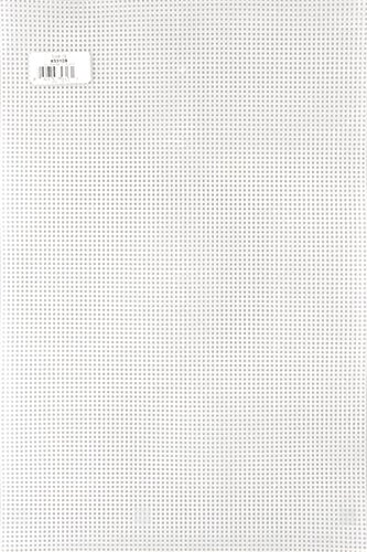 Darice 33105P 7-Count Supersoft Plastic Canvas, 12 by 18-Inch, Clear