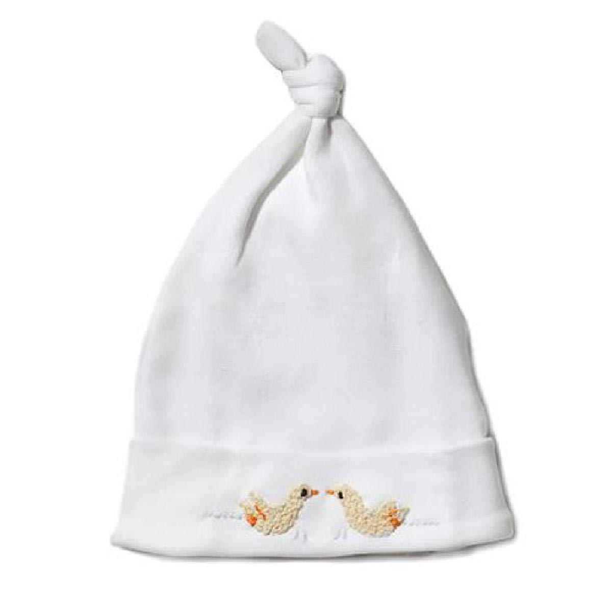 Jacaranda Living Knotted Hat, Ducks, 3-6 Months