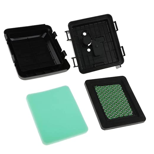 PETSOLA Filtro de Aire con Tapa y Caja Plástico para Hrb216 ...