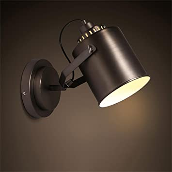 Mei night light Retro lampe de mur lampes miroir entrée balcon lit ...