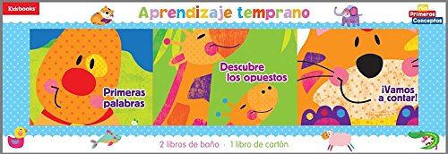 Aprendizaje temprano/ Early Learning (Estuche De Regalo Para Beb) (Spanish Edition)