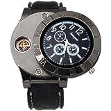 Handcuffs Luxury Analog Black Dial Men's Watch