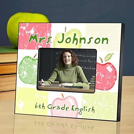 Amazon.com - Personalized Picture Frames for Teachers - Bloomin ...