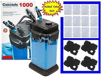 .com : penn plax cascade canister filter value bundles ...