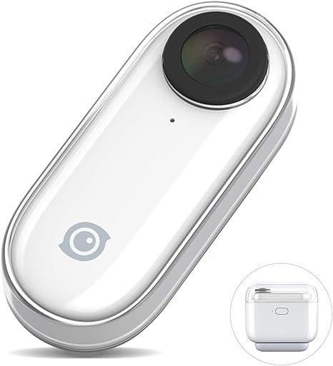 360 GO Cámara Compacta Acción con Estuche Carga,Grabar Video ...
