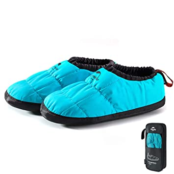 15424ccd3f484 Amazon.com: Tentock Unisex Warm Camping Slippers Boots Soft ...
