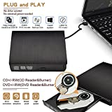 External DVD CD Drive,NOAUKA USB 3.0 Ultra Slim
