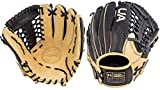 Under Armour Genuine Pro 11.75' Baseball Glove: UAFGGP-1175MT Black | Cream UAFGGP-1175MT Black | Cream Right Hand Thrower
