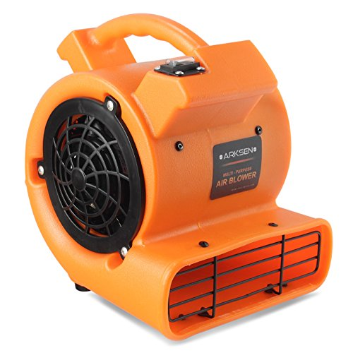 Arksen Multi Purpose Portable Blower Fan 1/2 HP Venting Cooling Durable Lightweight Air Mover Carpet Dryer (Carpet Dryer)
