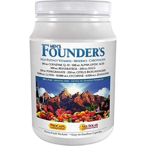 Andrew Lessman Multivitamin – Men's Founders 120 Packets – More Than 40 Nutrients Plus High Potencies of All Essential Vitamins, Minerals, Phytonutrients & Carotenoids. Easy-to-Swallow. No Additives