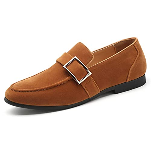 Hombres de la Boda Pisos Zapatos clásicos de la Oficina Party Mocasines: Amazon.es: Zapatos y complementos