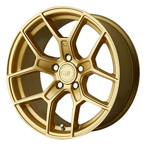 Motegi MR133 18x8.5 Gold Wheel / Rim 5x4.5 with a 35mm Offset and a 72.60 Hub Bore. Partnumber MR13388512635 by Motegi Racing