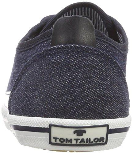 TOM TAILOR Damen 4891408 Bootsschuhe Blau (Navy)