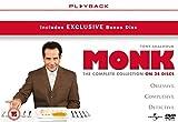 Monk (Complete Collection) - 34-DVD Box Set ( Monk (Seasons 1-8) ) [ NON-USA FORMAT, PAL, Reg.2.4 Import - United Kingdom ]