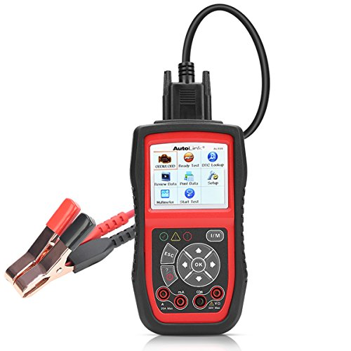 Autel AL539B Battery Tester OBD2 Code Reader OBDII Scanner Professional Electrical Test Tool Avometer by Autel (Image #6)