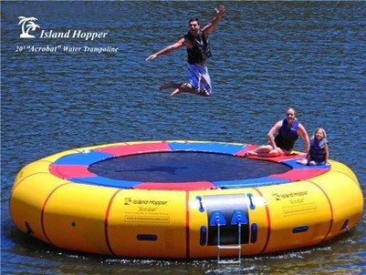 Island Hopper 20 Foot Acrobat Water Trampoline For Sale