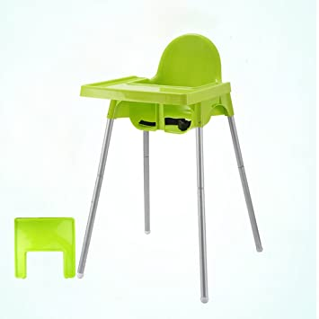 TLMY Bebe A Manger Chaise Enfants Table En Plastique BB Selles Haute Portable