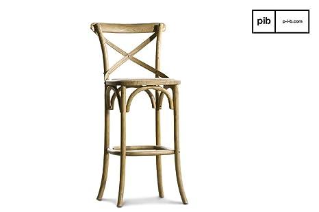 Pib sgabelli da bar sedia da bar pampelune in stile shabby chic