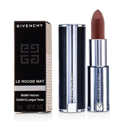 Le Rouge Semi-Matte Lipstick Genuine Leather Case/0.12 oz. Brun Casual (Best Lipstick For Over 50)