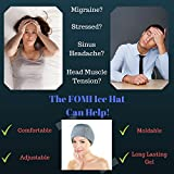 Migraine Gel Ice Hat by FOMI Care | Cooling