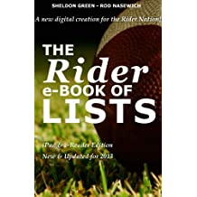 The Rider e-Book of Lists: iPad & e-Reader Edition (English Edition)