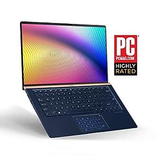 "ASUS ZenBook 13 Ultra Slim Laptop, 13.3"" FHD WideView, 8th-Gen Intel Core i7-8565U CPU, 16GB RAM, 512GB PCIe SSD, Backlit KB, NumberPad, Military Grade, TPM, Windows 10 Pro, UX333FA-AB77, Royal Blue"