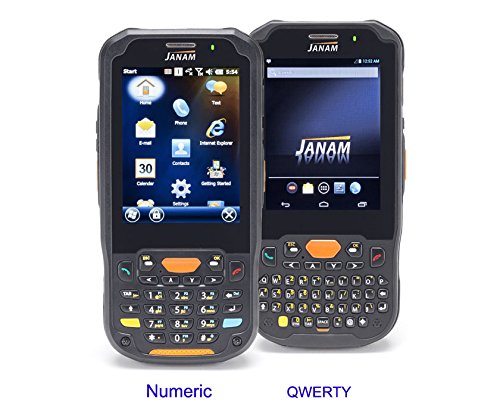 Janam XM5-1QKLRDGV00 Series XM5 Handheld Computing Devices, WEH 6.5, 2D Imager, 802.11ABGN, GPS, HD , 4000 mAh, Qwerty Keypad by JANAM