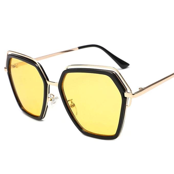parzinkk Gafas De Sol De Cara Redonda Para Mujer Gafas De ...