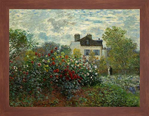 (The Artists Garden at Argenteuil by Claude Monet - 16