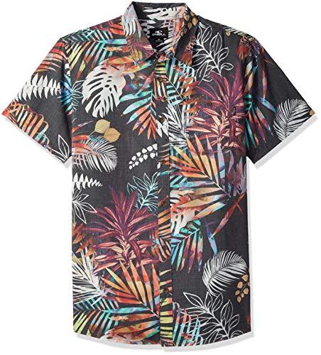ONeill Mens Modern Fit Short Sleeve Woven Party Shirt