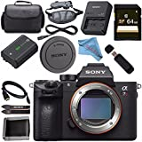Sony ILCE7RM3/B Alpha a7R III Mirrorless Digital Camera (Body Only) Base Bundle