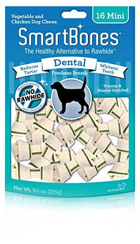 - SmartBones Mini Dental Chews (16 Pack)