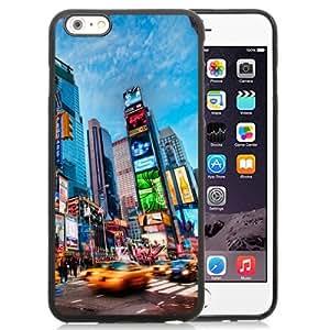 NEW Unique Custom Designed iPhone 6 Plus 5.5 Inch Phone Case With Times Square New York_Black Phone Case