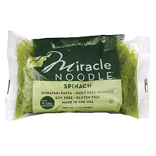 Miracle Noodle Shirataki Spinach Angel Hair 7 oz Pkg