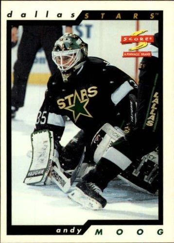 75698c571a6 Amazon.com  1996 Score Hockey Card (1996-97)  104 Andy Moog Mint   Collectibles   Fine Art
