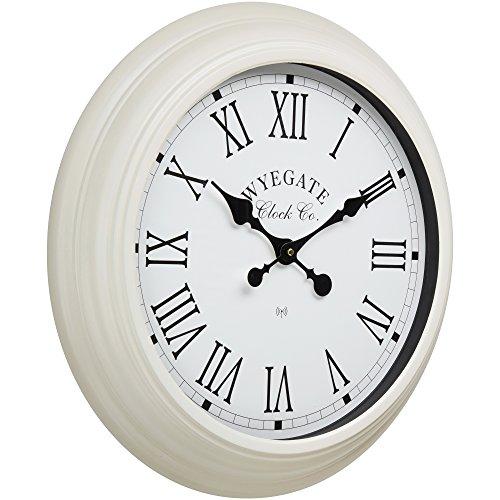 Wyegate Clock Company Garden Wall Clock Radio Controlled