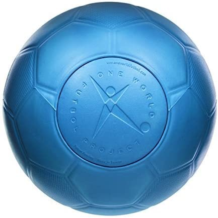 One World Play Project - Balón de fútbol Indestructible - No ...