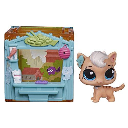 Littlest Pet Shop Mini Style Set with Meow Meow Milkone Figure (Littlest Pet Shop Mini Figures)