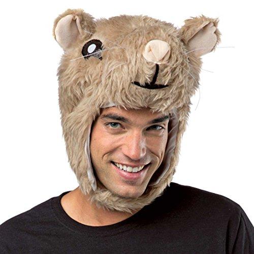 Rasta Imposta Hamster Laplander Head (Hamster Costume For Adults)