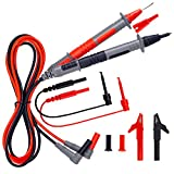KAIWEETS Soft Silicone Electrician Test Leads Kit