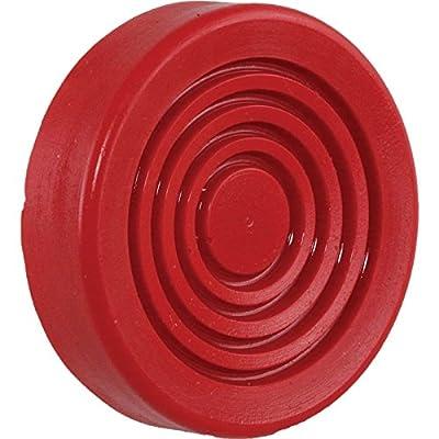 "Eckler's Premier Quality Products 40-253373 Hydraulic Floor Jack Pad, 3"" Diameter, Polyurethane, Prothane"