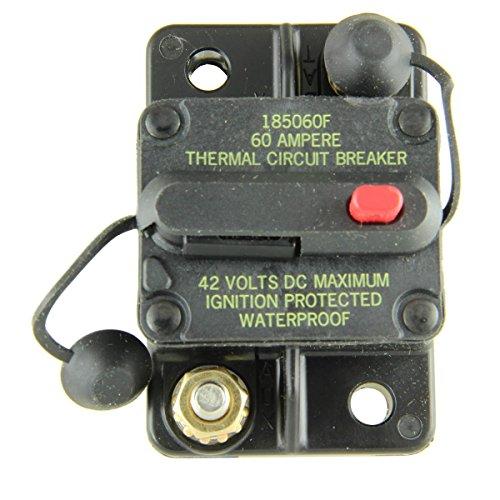 (OEM Cooper Bussmann Circuit Breaker 0-42VDC 60 Amp Manual Type 3 CB185-60)