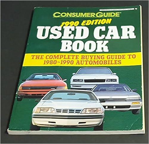 Read Consumer Guide 1990 Used Cars (Signet) PDF, azw (Kindle), ePub