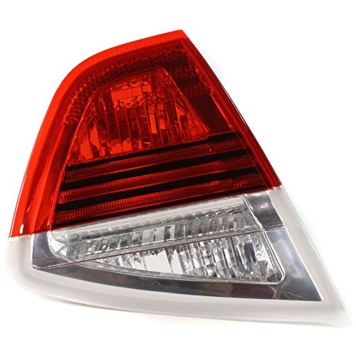 Tail Light for BMW 3-Series 06-08 Inner Lens and Housing Sedan Left Side