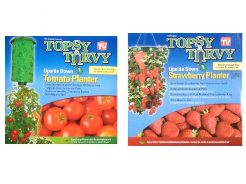 - Topsy Turvy Upside Down Tomato Planter - As Seen On TV