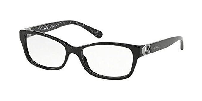 328e6ddbabc Eyeglasses Coach HC 6119 5510 BLACK at Amazon Women s Clothing store