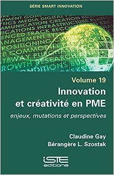 Book's Cover of Innovation Et Creativite En Pme (Anglais) Broché – 11 février 2019