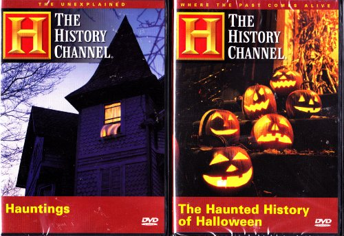 The Haunted History Of Halloween , Hauntings an Investigative look into haunted houses : 2 Pack (The Haunted History Of Halloween Dvd)