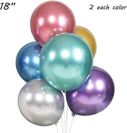 "Pink Metallic 12/"" Latex Balloons Birthday Wedding Engagement Anniversary"