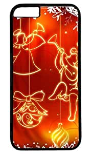 Christmas Decoration Easter Thanksgiving Personlized Masterpiece Limited Design PC Black Case for iphone 6 plus by Cases & Mousepads